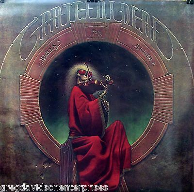 Grateful Dead 24x24 Blues For Allah Poster Jerry Garcia