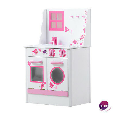 NEW Plum Cabin Wooden Role Play Kitchen Play Set
