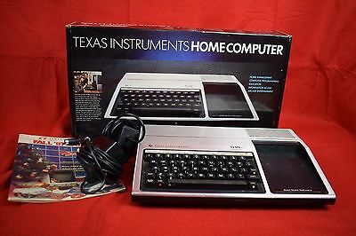 Texas Instruments TI-99/4A vintage computer - complete and working