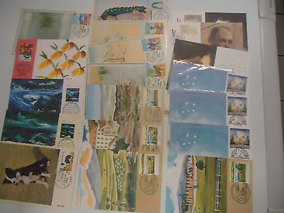 Australia 1979-89 Phq Maxi Card Collection Post Card Various Covers X 19 Cards