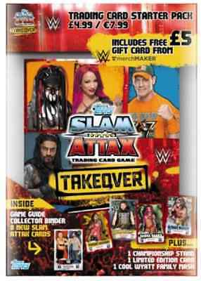 WWE Slam Attax NXT Takeover Starter Pack