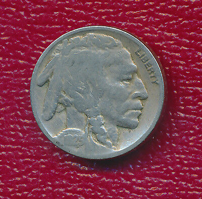 1925 Buffalo Nickel **collectible Date** Nice Toning!