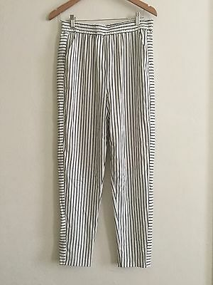 WITCHERY women's stripe Relaxed Pant