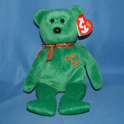 Ty Beanie Baby Dad-e 2004 - MWMT (Fathers Day Bear) Exclusive