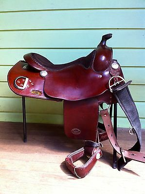 Limited Edition Silver Plated Billy Royal Arabian Training Saddle 16'