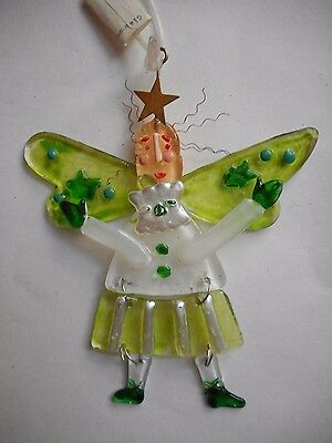 Stained Glass Angel Christmas Ornament by Demdaco