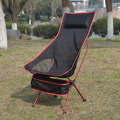 Outdoor Folding Chairs Portable Beach Fishing Camping Seat Hiking Garden Stools