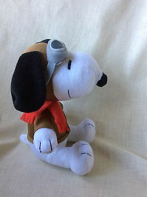 METLIFE SNOOPY WWI Flying Ace Red Baron Peanuts Pilot Plush Aviator