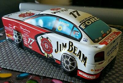 Jim Beam 2007 Limited Edition Bottle/Tin. Ford Racing.