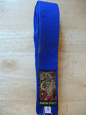 Martial Art Blue Belt Karate Taekwondo Martial Sport size 5