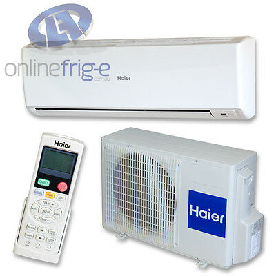 NEW Air Conditioner 2.6kw Inverter Haier Heating/Cooling Indoor and Outdoor Unit