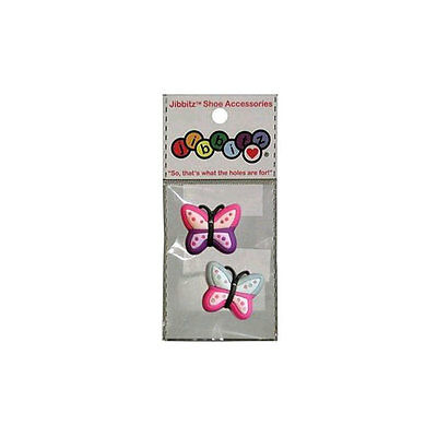 Jibbitz Rubber Phone Case Charm for Crocs O-Dial - Butterfly Assortment