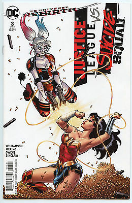 Justice League vs Suicide Squad Rebirth #3 Amanda Conner Variant Bagged Boarded