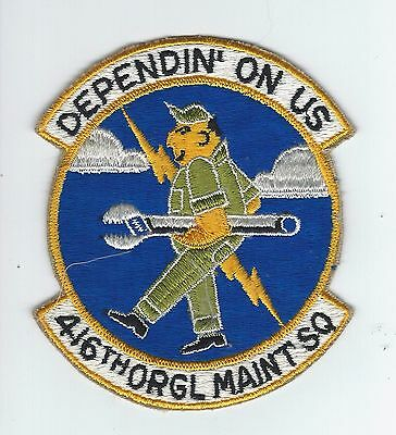 60s-70s 416th ORG MAINTENANCE SQUADRON patch