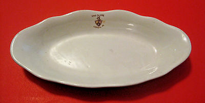 ANTIQUE 1928 KNIGHTS OF PYTHIAS LODGE No. 49 EAU CLAIRE WISCONSIN CHINE PLATE