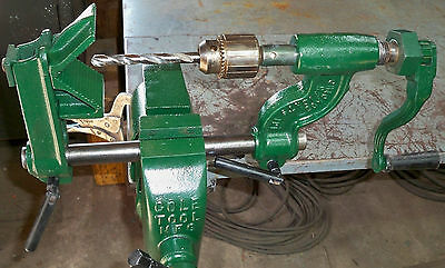 "Jacobs 1/2"" Drill Chuck Model 34 JT with COLE TOOL MFG ARBOR"