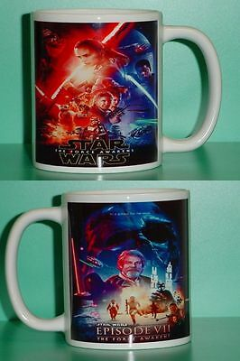 STAR WARS - The Force Awakens - with 2 Photos - Designer Collectible GIFT Mug