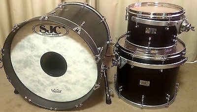SJC Custom Drum Shells Kit, DW Mounts
