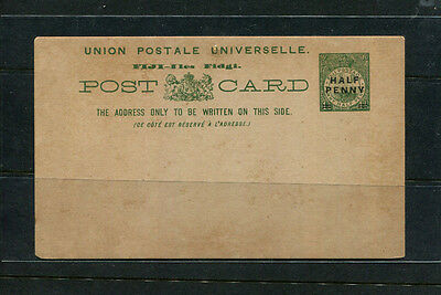 Fiji  Early Postal Card Post Card Ppe Stamp Cover Unused