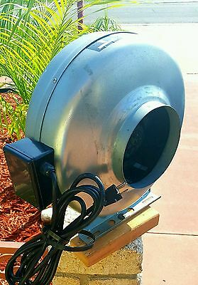 """6"""" INLINE DUCT FAN HIGH VELOCITY Cool Air Vent Exhaust Heat Can Filter Blower"""