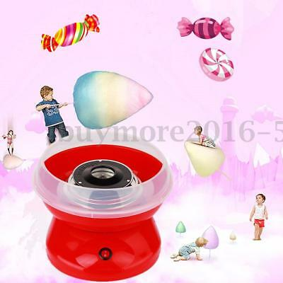 Red Electric Fairy Candy Floss Machine Home Cotton Sugar Candy Floss Maker Party