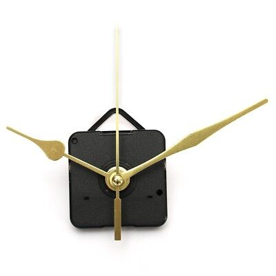 DIY Long Gold Hands Wall Quartz Clock Spindle Movement Mechanism Repair Tool Kit