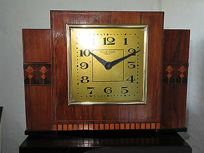Rare BULLE CLOCK marqueterie années 50 collection