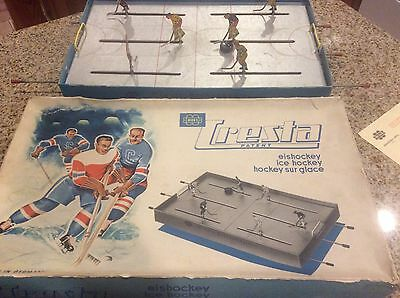 Original Early 1950's German Miegs Cresta Table Hockey Game