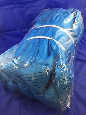 Loadset 8T x 8 M Ton Polyester Round Lifting Sling + Test Cert. AS 4497.1 BLUE