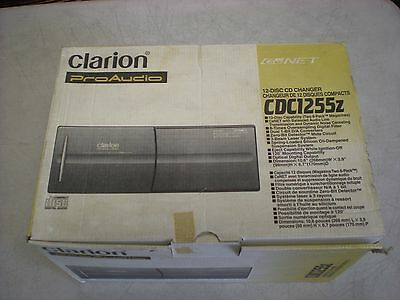 Brand New In The Box Old School Clarion Cdc1255Z  Disc Changer Made In Japan