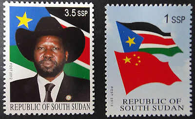 South Sudan 2012 Independence Flag President Rare Uissued MNH
