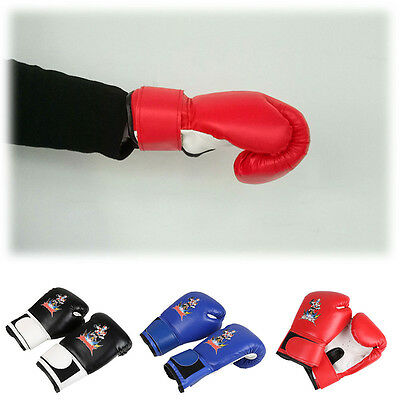 Children Kids BOXING GLOVES MAXX Muay Thai Grappling Pad Gloves MMA Punch Kick