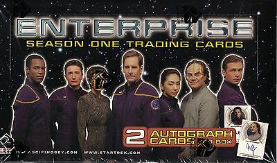 Star Trek Enterprise Season 1 Trading Card Box