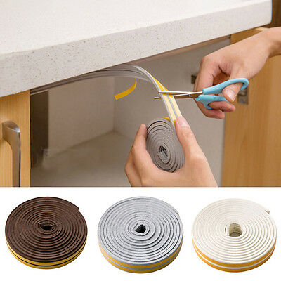 5M EVA Sound Insulation Excluder Self Adhesive Window Door Seal Windproof Strip
