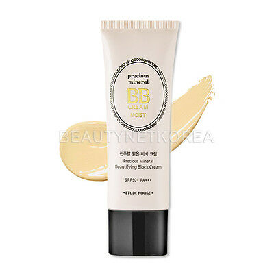 [ETUDE HOUSE] Precious Mineral BB Cream Moist (SPF50+/PA+++) 45g 5 Color