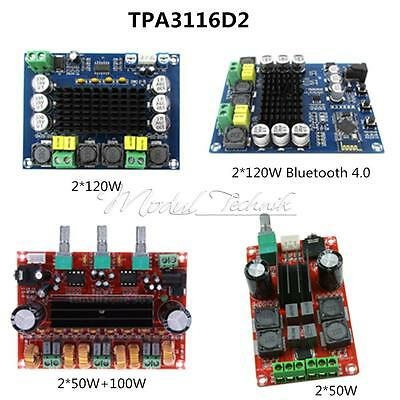 TPA3116D2 2*50W 2*50W+100W 2*120W Class D Dual Channel Digital Stereo Amplifier