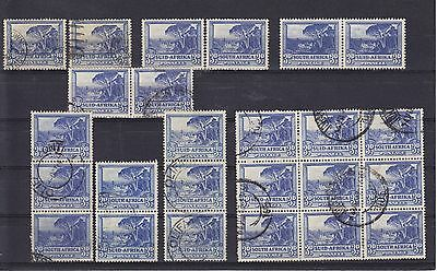 South Africa KGV/KGVI Mounted Mint & Used Collection Unchecked (2)