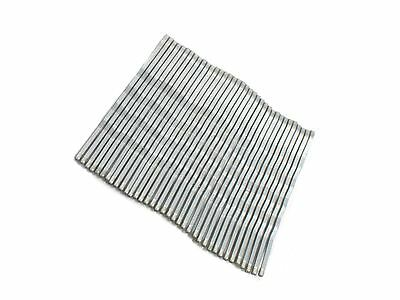 1 Pack of 36 Silver Hair Kirby Grips Slides 4.5cm long Hair Accessories UK