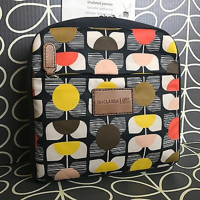 Genuine ORLA KIELY x MACLAREN Stem Flower Insulated Pannier Bag Quest Buggy NEW