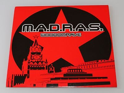 """M.A.D.R.A.S. - woodoorave - Vinile 12"""" - Madras - 2000 NMH"""