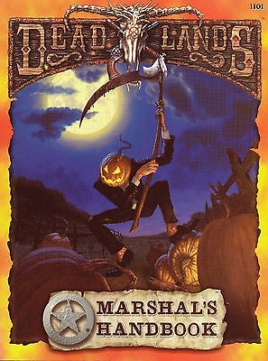 Deadlands Role Playing Game - Marshal's Handbook - Pinnacle 2001
