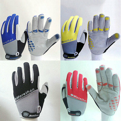 Racing Full Finger Bicycle Gloves Mountain Bike Non-Slip Breathable Mittens New