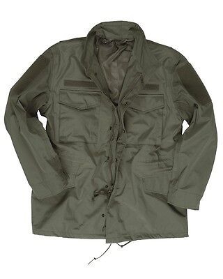 Mil-Tec U.s. M65 Feldjacke Trilaminat Parka Security Military Outdoor Oliv Xxl