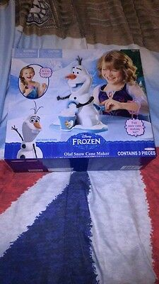 Frozen Olaf Snow Cone Maker, New, Boxed