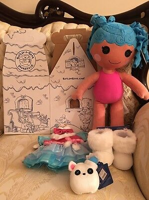 Build A Bear Lalaloopsy Mittens Fluff 'N' Stuff Outfit Shoes Pet Bundle  New