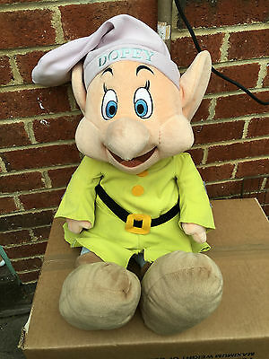 Disney - Dopey - Xl Plush - Snow White & Seven Dwarfs Soft Toy