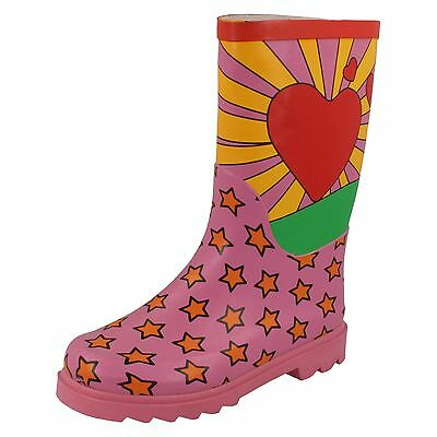 Wholesale Girls Wellington Boots 16 Pairs Sizes 10-3  X1059