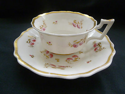 Porcelain cup and saucer c1825-30