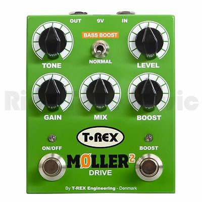 T Rex Moller 2 Classic Overdrive With Clean Boost