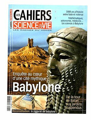 "cahiers science et vie ""BABYLONE"" n°82 - aout 2004"